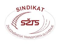 Sindikat železniškega transporta Slovenije Logo
